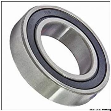 35 mm x 72 mm x 17 mm  NACHI 6207 Deep Groove Ball Bearing 35x72x17