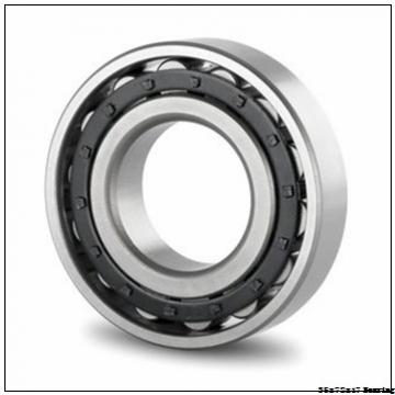 35 mm x 72 mm x 17 mm  Japan NSK Deep Groove Ball Bearing 6207 2RS 6207 ZZ 35x72x17 mm