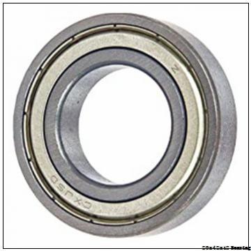 Original Good Quality NACHI Bearing Chrome Steel Electric Machinery 20x42x12 mm Deep Groove Ball NACHI 6004 ZZ 2RS Bearing