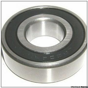 High standard deep groove ball bearing 6004-2RS with dimensions 20x42x12 mm