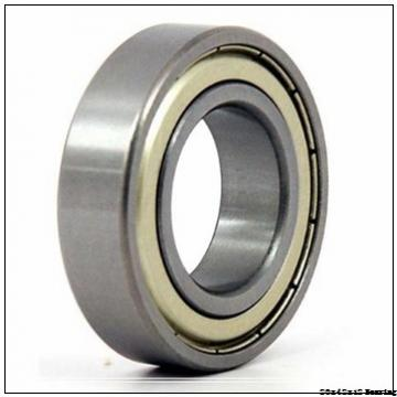 6004zz 6004 zz 20x42x12 deep groove ball bearing