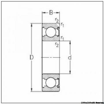 Power plant Angular contact ball bearing 71940CDGA/P4A Size 200x280x38