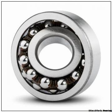 High quality train cylindrical roller bearing NUP317ECP Size 85X180X41