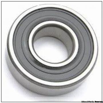 Crusher Angular contact ball bearing 7317BEGAM Size 85x180x41