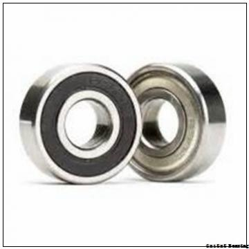 6x15x5 Metal Shields Chrome Steel Miniature Ball Bearing 696ZZ