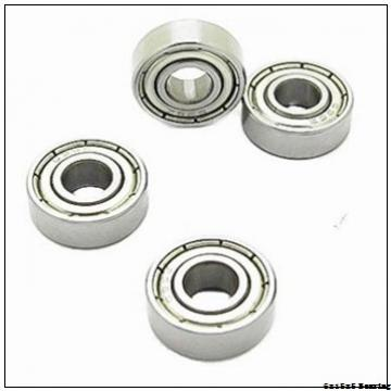 Deep Groove Ball Bearings With Glass Balls Nylon Cage POM Plastic Bearing 6x15x5 mm 696