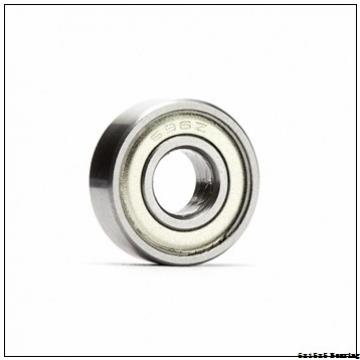 factory supply 6x15x5 mm 1 inch stainless density steel ball bearing for ceiling fan