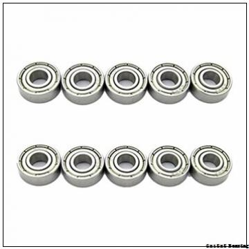6mm x 15mm x 5mm 696ZZ Radial Shielded Deep Groove Ball Bearing 6x15x5