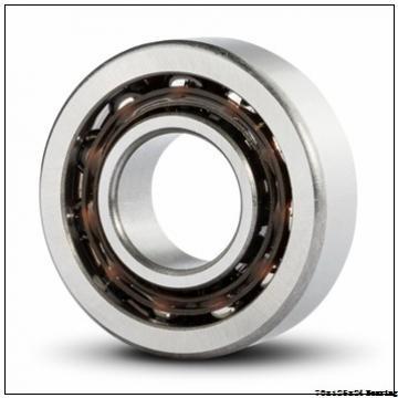 Time Limit Promotion 7214B High Quality High Precision Angular Contact Ball Bearing 70X125X24 mm