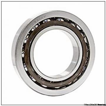 Long life steel mill Angular contact ball bearing 7214ACDGA/P4A Size 70x125x24