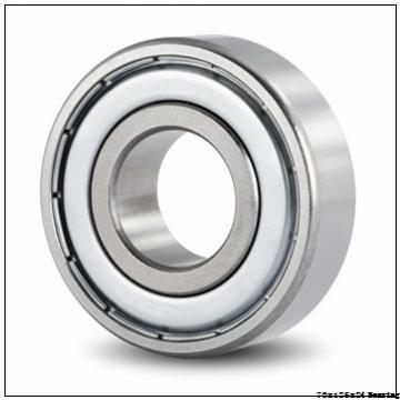 2.756 Inch | 70 Millimeter x 4.921 Inch | 125 Millimeter x 1.89 Inch | 48 Millimeter  NSK 7214A5TRDULP4 Angular contact ball bearing 7214A5TRDULP4 Bearing size: 70x125x24mm