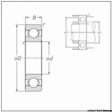 High quality generator bearing NJ2230ECM/C4VA824 Size 150X270X73