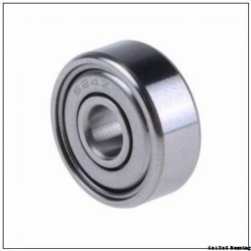 W 624-2Z Bearings 4x13x5 mm Ball Bearing Stainless Steel Deep Groove Ball Bearing W624-2Z