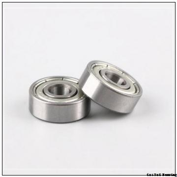 Mini Chrome Steel 4x13x5mm 624 Rubber Seals Ball Bearing
