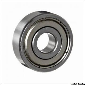 F624 F624-2RS Miniature flange ball bearing F624ZZ size 4x13x5 mm
