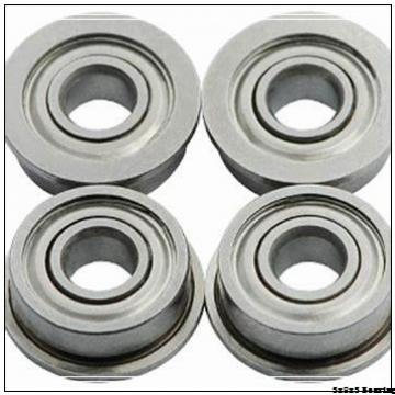 693 3x8x4 3x8x3 stainless steel chrome steel full hybrid ZrO2 Si3N4 ceramic ball bearing 3x8x4mm