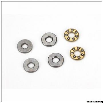 Roll ball bearings 3x8x3 mf83 MF83ZZ 3mm double flange uav bearing