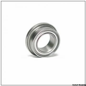 F693 Flange miniature bearing 3x8x3 mm deep groove ball bearing F 693 F 693