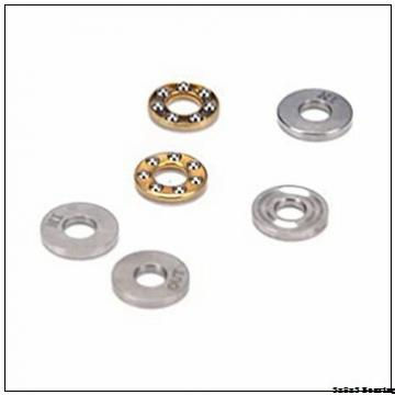 MF83ZZ chrome steel miniature ball bearings double metal shielded 3x8x3 Flanged