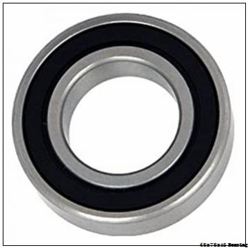 The Last Day S Special Offer 6009 OPEN ZZ RS 2RS Factory Price Single Row Deep Groove Ball Bearing 45x75x16 mm