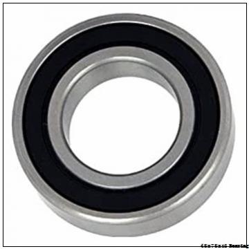 45x75x16 mm stainless steel ball bearing 6009 2rs 6009z 6009zz 6009rs,China bearing factory