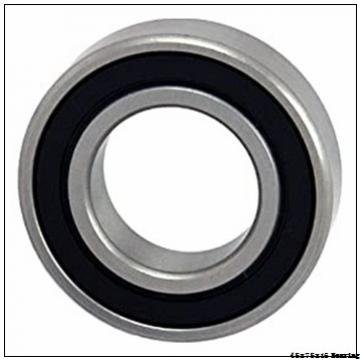 6009 open type 45x75x16 thin wall full ceramic zro2 ball bearing