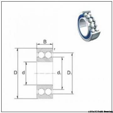 180 mm x 320 mm x 86 mm  Taper roller bearing 32236 SKF bearing 32236 size 180x320x86