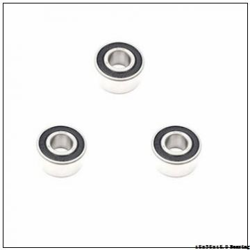 Fishing Reel 3202 A-2RS1 Bearings 15x35x15.9 mm High Quality Double Row Angular Contact Ball Bearing 3202A-2RS1