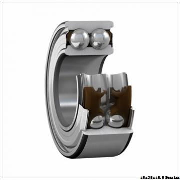 Hot Sale Open Type Steel Cage Double Row Angular Contact Ball Bearing 3202