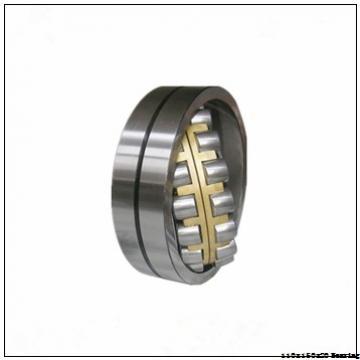 Textile machinery Angular contact ball bearings 71922ACDGA/HCP4A Size 110x150x20