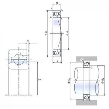 110 mm x 150 mm x 20 mm  110BNR19H Bearing NSK High Precision Ball Screw Bearing 110BNR19H NSK Bearing Size: 110x150x20mm