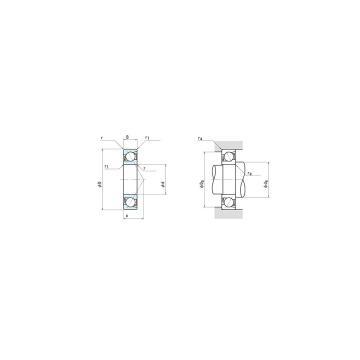 NSK Spindle Bearings 7214C angular contact ball bearing 7214 7214-B
